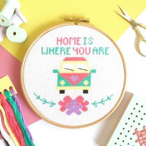 camper-van-cross-stitch-hoop