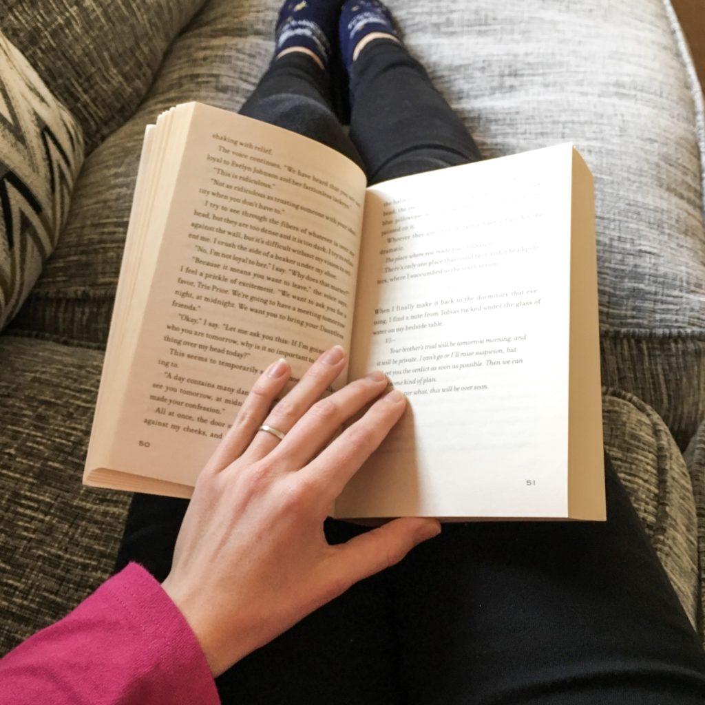 book-on-lap