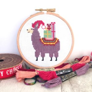 christmas-llama-cross-stitch-kit-for-beginners