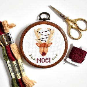 christmas-reindeer-cross-stitch-kit