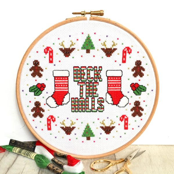 deck-the-halls-cross-stitch-hoop