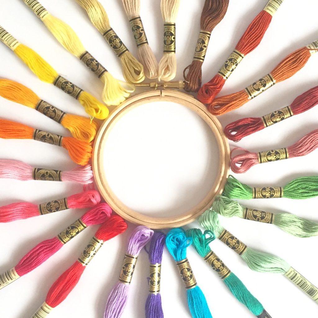 dmc-embroidery-threads-around-embroidery-hoop