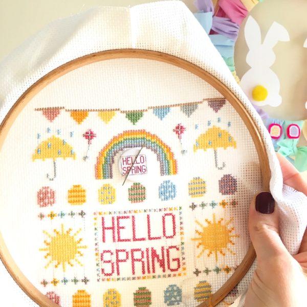 hello-spring-cross-stitch-kit