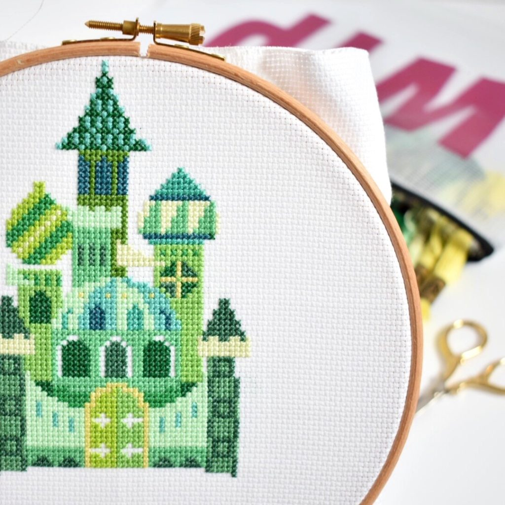 how-to-make-a-cross-stitch-lampshade-design