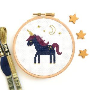 sleepy-unicorn-cross-stitch-hoop