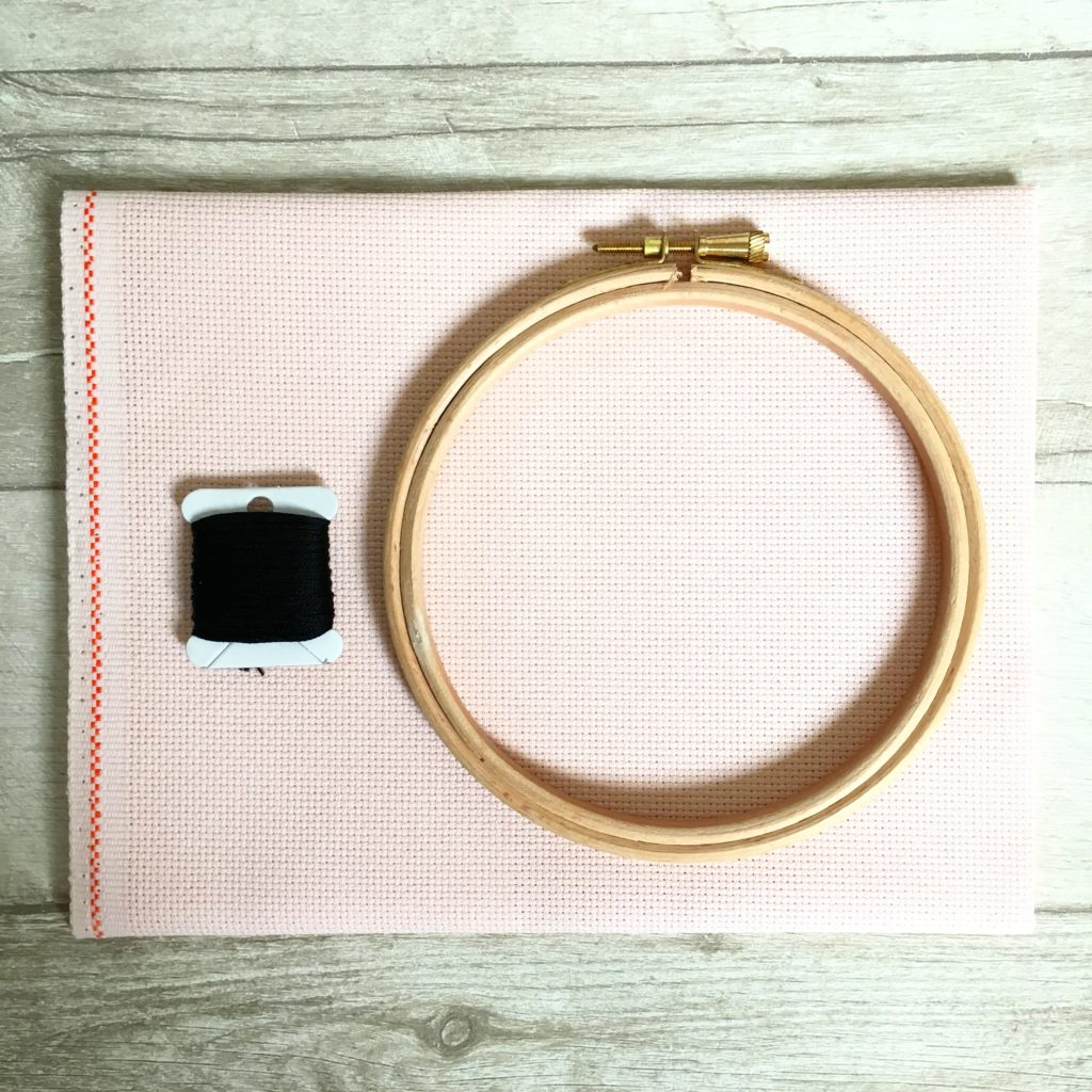 cross-stitch-fabric-hoop-and-thread