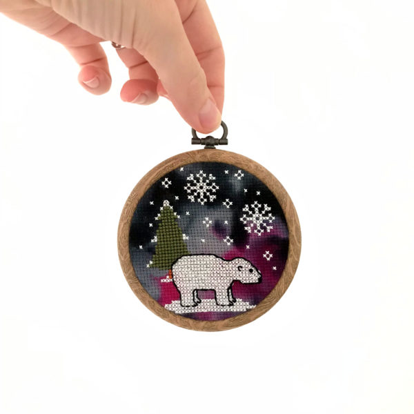 polar-bear-cross-stitch-hoop