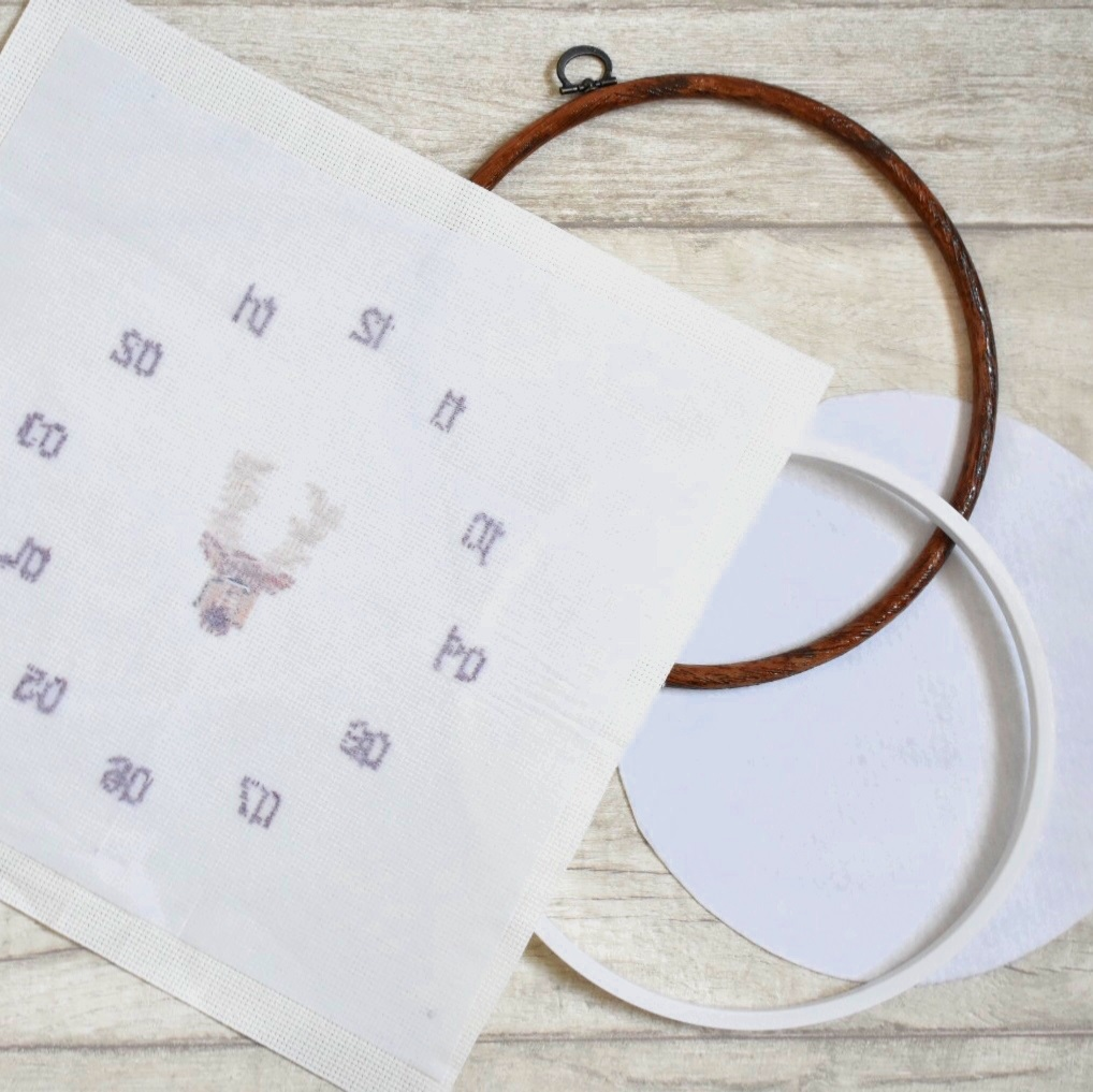 cross-stitch-clock-tutorial-iron-on-interfacing