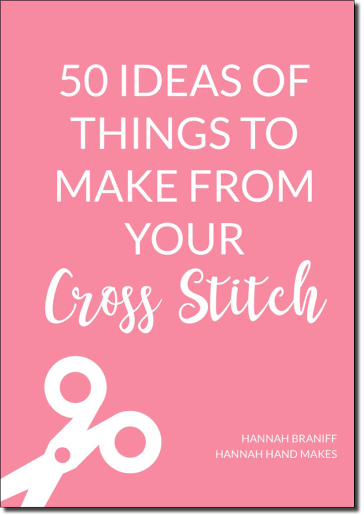 50 ideas of things to make from your cross stitch design cover page