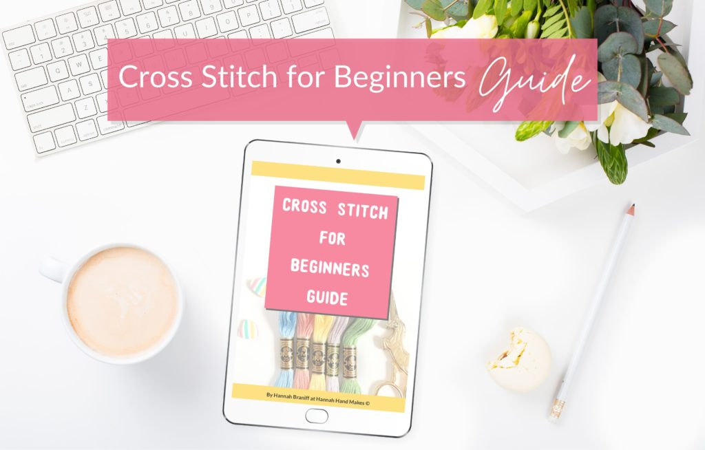 Coffee mug flat layouts cross stitch guide